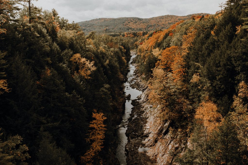 queechee gorge in vermont