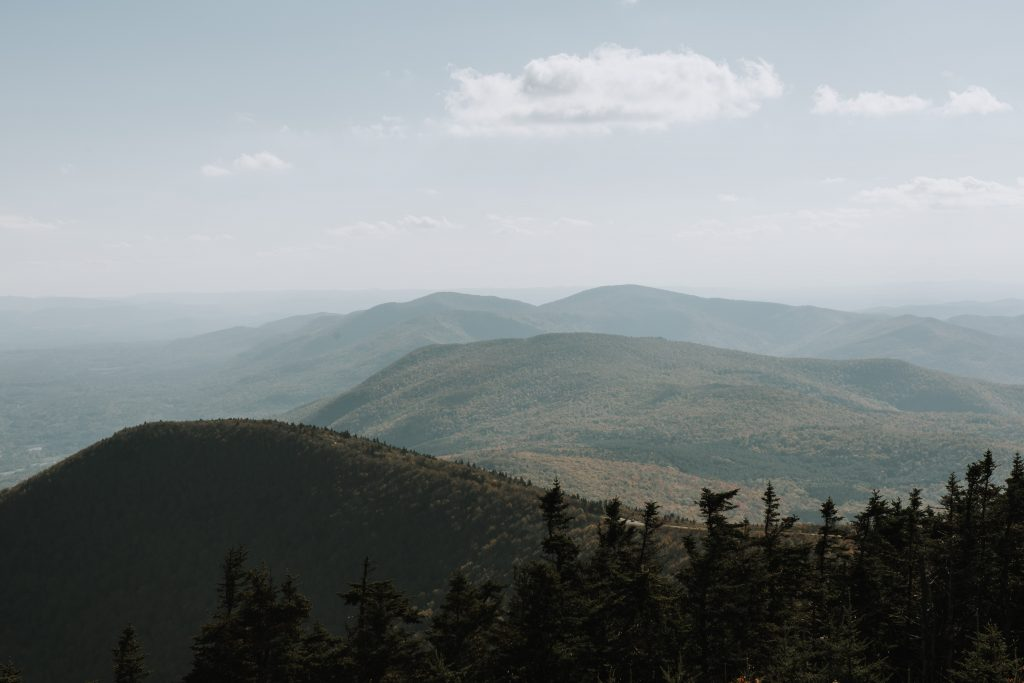 summit of equinox mountain in vermont