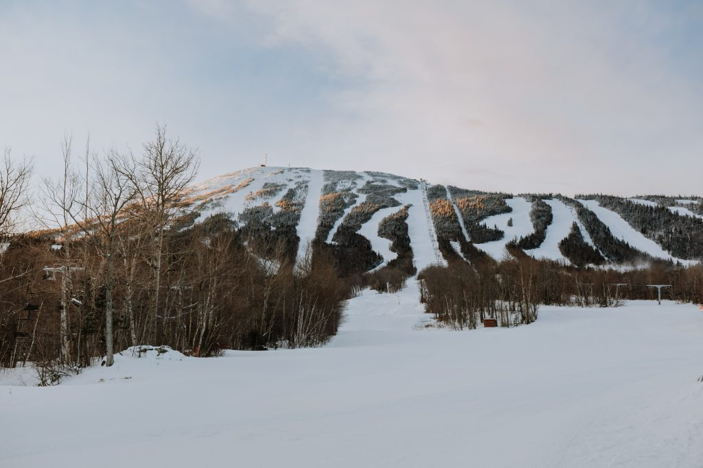 Sugarloaf Mountain in Maine